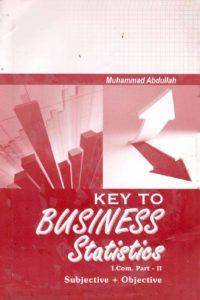 Key Book for Business Statistics I.Com Part 2