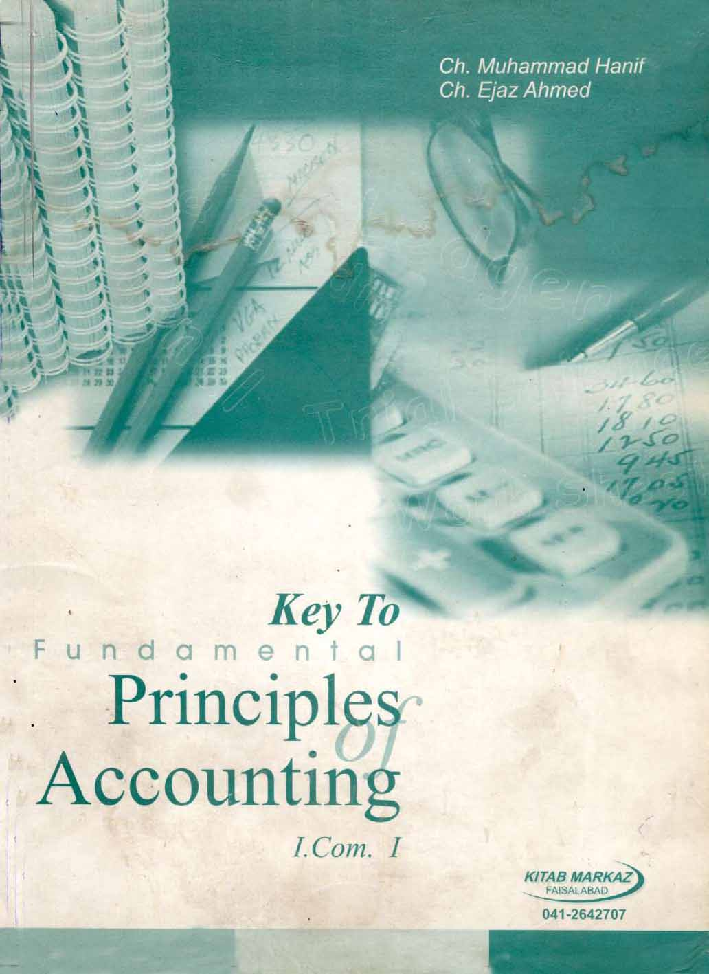 rinciples of Accounting I.Com