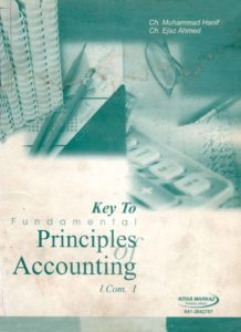 Key Book for Principles of Accounting
