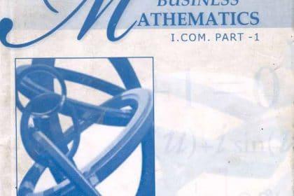 Business Mathematics I.Com
