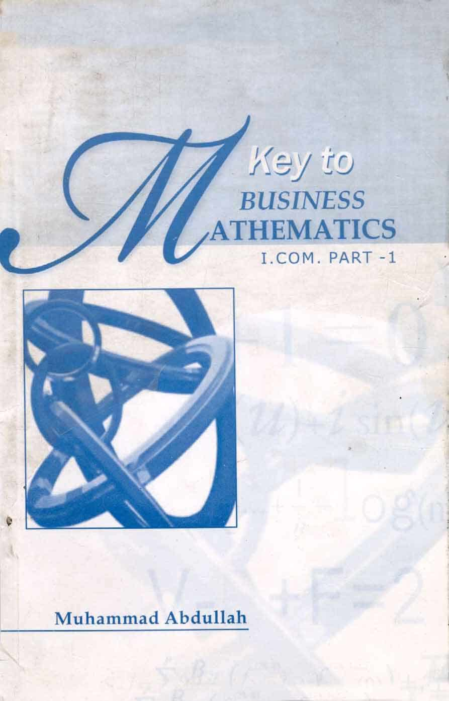 Key Book Free Download For Business Mathematics I Com Part 1