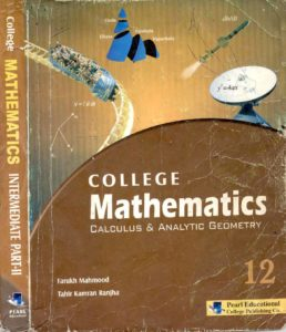 College Mathematics Key for Mathematics FSC & ICS Part 2