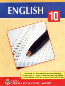 English for 10th Class Free Download in PDF