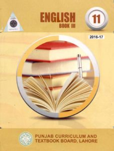 English Book 3 for 11th Class