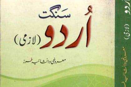 Sanggat Urdu Guaide 2nd year urdu book