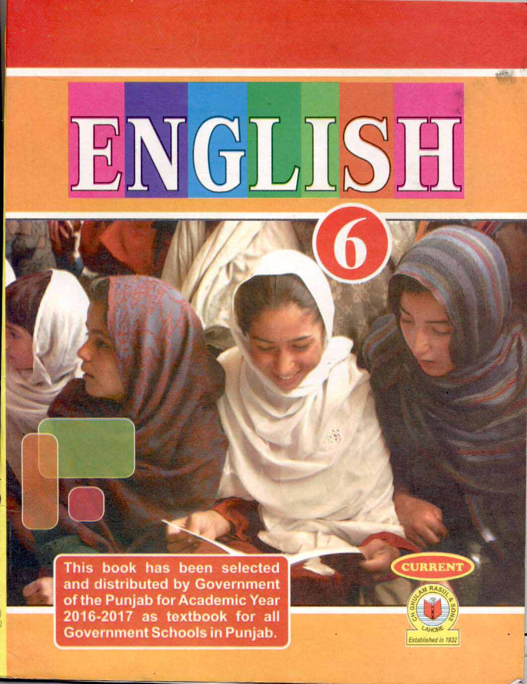 6th Class English