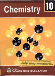 Chemistry 10th Class Book (English Medium)