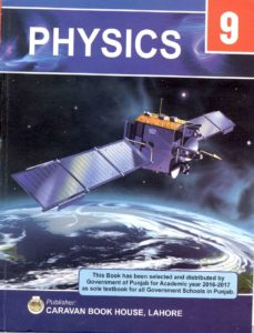Physics 9th Class Book (English Medium)