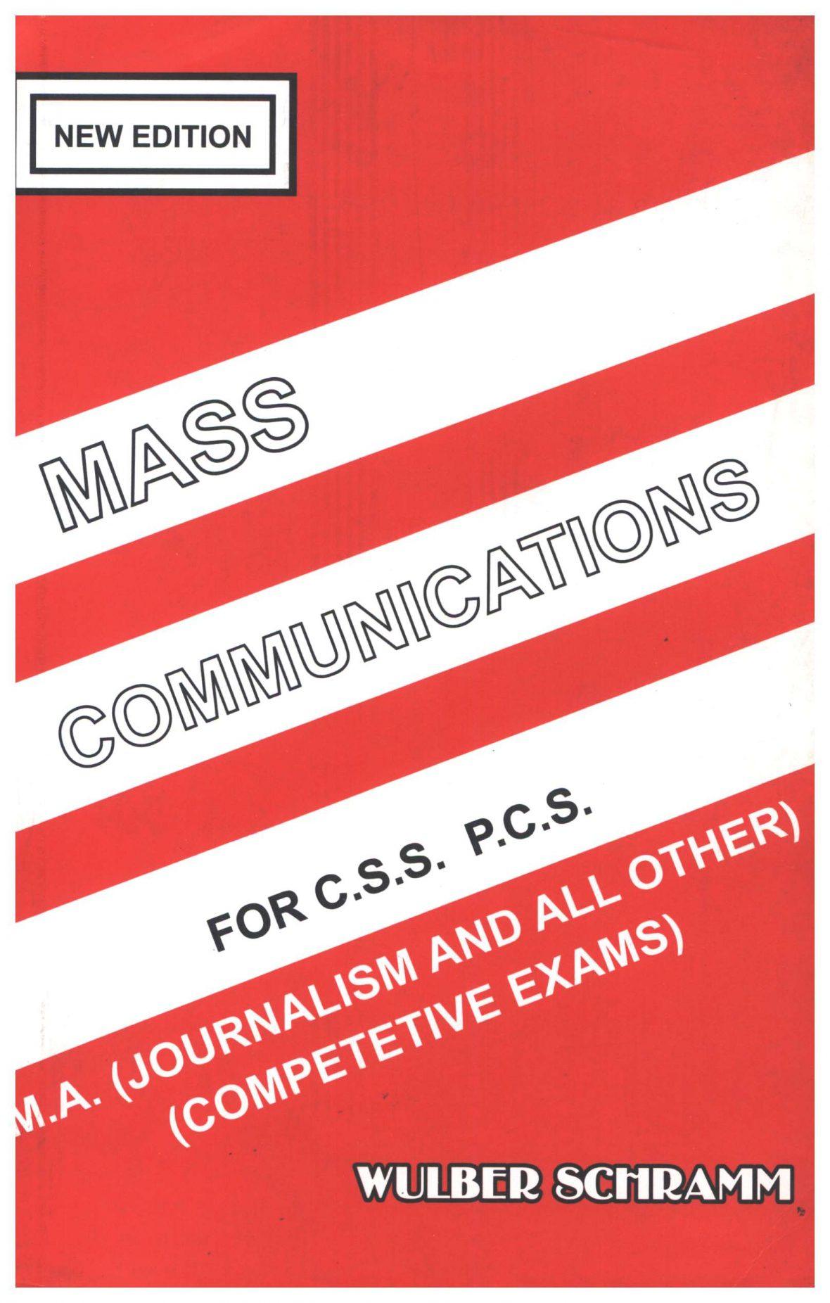 Mass Communications by Wilbur Schramm Download