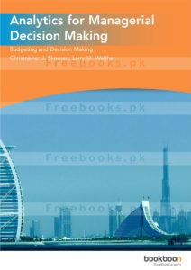Analytics for Managerial Decision Making Book free Download 1